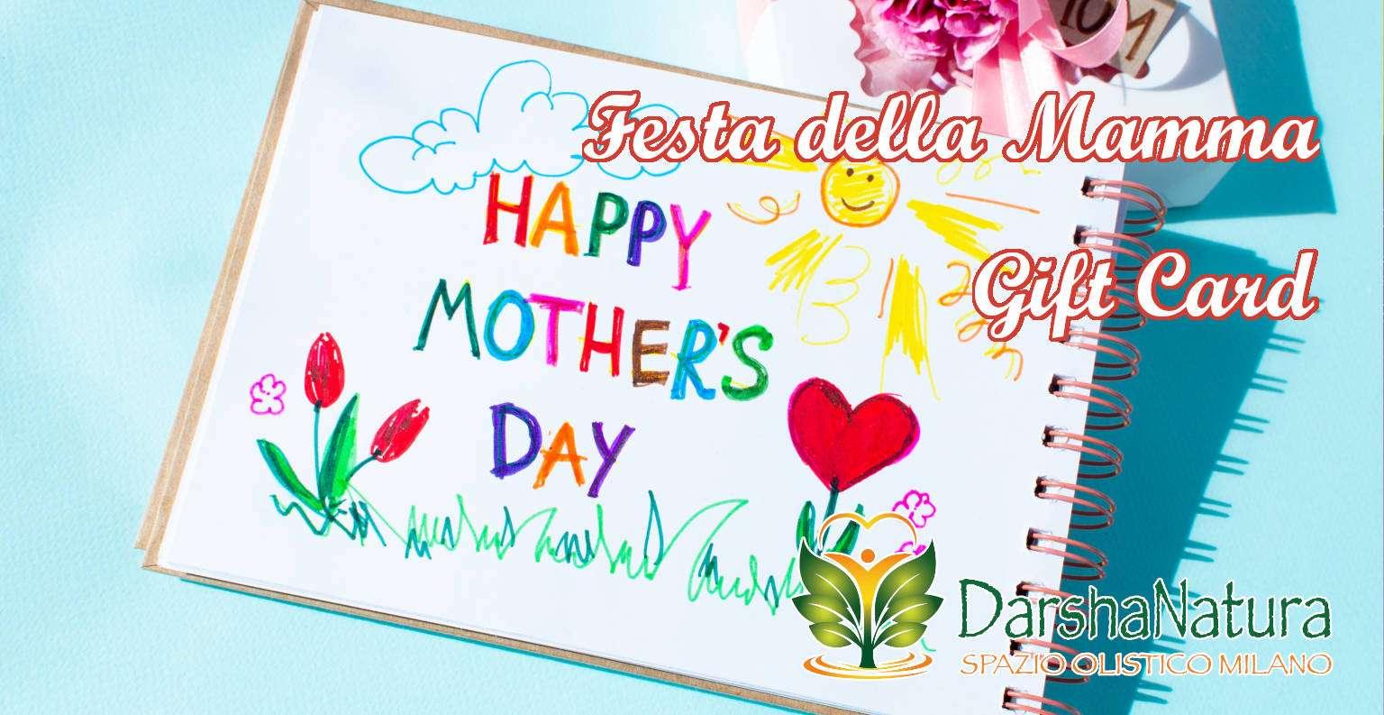 Darshanatura - Gift Card Festa della Mamma - Massaggio Sonoro Mamma e Figlia